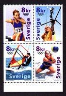 SUEDE 2000 - YT 2165/2168 - Facit 2205/2208 - NEUFS ** LUXE/ MNH -  Bloc De 4 Valeurs - J. O. De Sydney - Suède