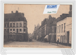 5238 AK/PC/CPA/DUNKERQUE/RUE DU PRESIDENT POINCARE/RESTAURANT A LA VILLE DE PARIS - Dunkerque