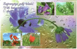 Turkmenistan.2014 Flower. S/S Of 4v X B  Michel # BL45(326-29) - Turkménistan