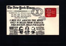 USA 1978 Space / Raumfahrt  Apollo Interesting Cover - Briefe U. Dokumente