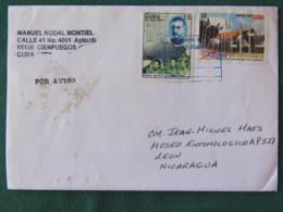 Cuba 2017 Cover To Nicaragua - Conferences Palace La Habana - History - Cuba