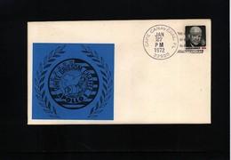 USA 1972 Space / Raumfahrt  Apollo 1 Interesting Cover - Briefe U. Dokumente