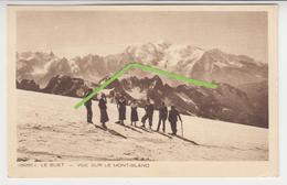 VO  257 /  LE  BUET     /   Vue Sur Le MONT BLANC - Francia