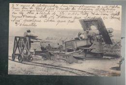 CPA (Milit.) Nouvelle Artillerie Lourde Française - Mortier De 350 - Guerre 1914-15 - Matériel