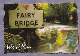 Postcard Fairy Bridge Isle Of Man [ John Hinde ] My Ref  B23255 - Isle Of Man