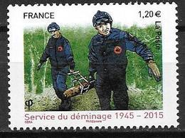 France 2015 N° 4927 Neuf Service De Déminage à La Faciale - Neufs