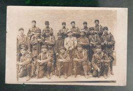 CPA (Milit.) Groupe De Militaires Armés - Carte Photo Non Datée, Non Située - Characters