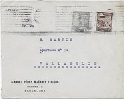 SOBRES ESPAÑA /// (C020)  ESPAÑA  AÑOS 40 - 1931-50 Briefe U. Dokumente