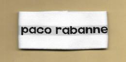 Bracelet élastique Ruban Parfumé Perfume Ribbon PACO RABANNE * 1 EX - Cartes Parfumées