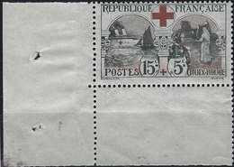France 1918  N° 156** 15c + 5c Cdfeuille Infirmières Fraicheur Postale  Signé Calves - France