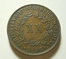 Portugal XX Reis 1852 - Portugal