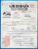 """Courrier Commercial Maurice LEDOUX & Cie 75011 Paris & 33 Bordeaux-Bègles """"POMPES Pour Tous Liquides"""" - Non Classés"""