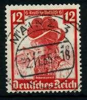 3. REICH 1935 Nr 593 Zentrisch Gestempelt X784CF6 - Deutschland