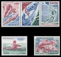 MONACO 1976 Nr 1225-1229 Postfrisch 3ER STR S01711A - Monaco