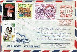 LBR26 - VIET NAM LETTRE AVION BIEN-HOA / DOURGNE 15/4/1995 - Viêt-Nam