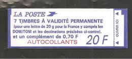 France, Carnet 1506a, Numéroté, Carnet Neuf, Non Ouvert, TTB, Carnet Marianne De Briat, 2873b, 2874ca - Carnets