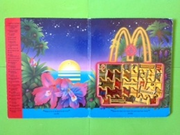 Pin's Mac Do McDonald's Puzzle Fournisseurs Formé De 30 Pin's 1988 RARE (Usé)  - SP67 - McDonald's