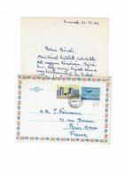 LBR26 - ROUMANIE EP ENVELOPPE AVEC CONTENU DECEMBRE 1962 - 1948-.... Républiques