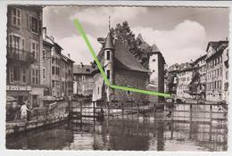 VO  286 /   ANNECY   /    LE  PALAIS DE L 'ILE  Et Le Canal Du THIOU - Annecy
