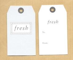 Carte Promo Perfume Card FRESH Petit Modèle * R/V - Perfume Cards