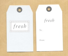 Carte Promo Perfume Card FRESH Petit Modèle * R/V - Cartes Parfumées