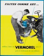 Document Publicitaire (2 Volets) VERMOREL 69 Villefranche-sur-Saône PULVERISATEUR-ATOMISEUR *** AGRICULTURE - Agriculture
