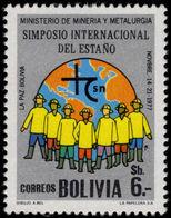 Bolivia 1977 International Tin Symposium Unmounted Mint. - Bolivia