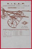 """Document Technique Publicitaire """"CULTIVATEUR"""" S.I.C.A.M. 85 LANDES-GENUSSON Vendée *** AGRICULTURE - Agriculture"""