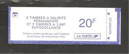 France, Carnet 1510, Type II, Carnet Neuf **, Non Ouvert, TTB, Carnet Marianne De Luquet, 3101aa - Carnets