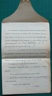 TURNHOUT - Brief Notaris BOONE - Deeling Erfenis Franciscus MERTENS Merxplas - 1922-1927 Houyoux