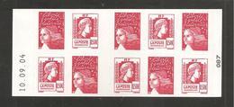 France, Carnet 1512, Daté, Carnet Neuf **, Non Plié, TTB, Carnet Marianne D'Alger, 3716 - Carnets