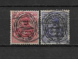 LOTE 1796  ///  (C060) ALEMANIA 1920 SECTORES DE COORDINACION  MICHEL Nº 16+19 - Alemania