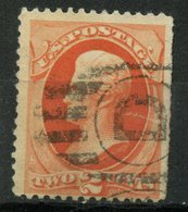 United States 1879 2 Cent Andrew Jackson Issue #183 - Used Stamps