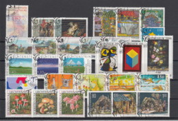 Liechtenstein Usati:  2000 Annata Completa Lusso - Liechtenstein