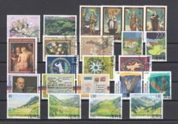 Liechtenstein Usati:  2005 Annata Completa Lusso - Liechtenstein