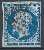 N°14 NUANCE ET OBLITERATION. - 1853-1860 Napoléon III