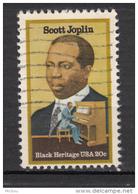 USA, Musique, Music, Piano, Compositeur, Composer, Black History, Scott Joplin, Noir - Musique