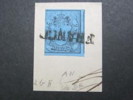 Oldenburg , Schönes Briefstück Mit Stempel FRANCO - Oldenbourg