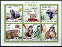 NB - [35625]Union Des Comores - Les Lémurs Mangoustes - Eulemur Mongoz - Comores (1975-...)
