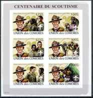 NN - NB - [35754]NN-Union Des Comores - ND/imperf - Centenaire Du Scoutisme - Robert Baden-Powel - Comores (1975-...)