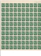 "CANADA 1949 ""GEORGE VI"" FULL SHEET MNH #284 PB#2 - 1937-1952 George VI"