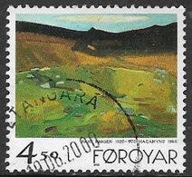 Faroe Islands SG351 1998 Paintings 4k.50 Good/fine Used [4/3669/6D] - Faroe Islands