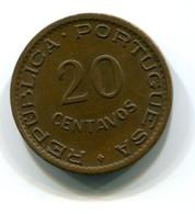 1950 Mozambique 20 Centavos Coin - Mozambique