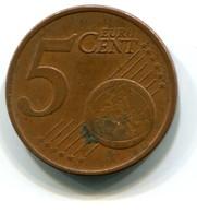 2002 Greece 5 Cent Coin - Greece