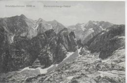 AK 0103  Grundübelhörner - Reitersteinberg-Gebiet / Verlag Schmidt Um 1911 - Berchtesgaden