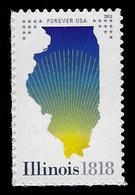 USA, 2018, 5274,Illinois Statehood In 1818  MNH, VF - Ongebruikt