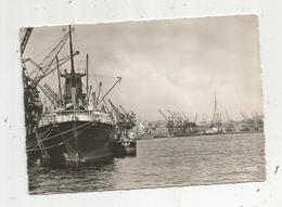 Cp, Bateaux , 76, ROUEN , Le Port, Voyagée 1956, Ed. La Cigogne - Commerce