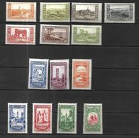 Algérie 1930 Centenaire Cat Yt N° 87  à 99 N* MLH - Algérie (1924-1962)