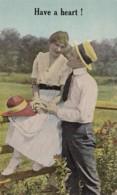 Romantic Couple Have A Heart - Couples