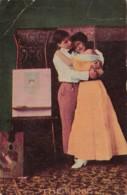 Romantic Couple Embracing The Close 1908 - Couples